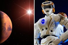 NASA Mars mission: Boffins test HUMANOID 'iron men' robots to explore Red Planet