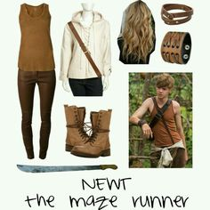 The maze runner look