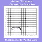 "This free math game is a derivative I created based on a popular game in order to help my students practice plotting coordinate points as well as telling ordered pairs for points they have plotted. I call it: Coordinate points and ordered pairs ""Warship."""