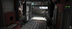 ITO's orbital research station Xeno-13 in Unreal Engine 3 (2007).