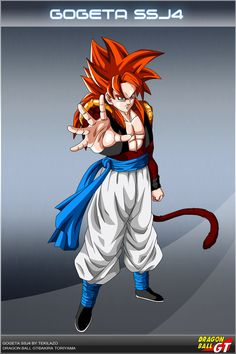 Dragon Ball GT - Gogeta SSJ4 by DBCProject