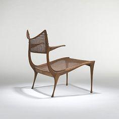 Dan Johnson,   #30W Prototype Gazelle Lounge Chair for Dan Johnson Studio, c1957.