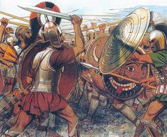 """""""Mycenaeans at the Trojan War"""", Peter Connolly"""