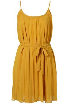 Pleated Strap Dress by Rare, on Top Shop, Price Range: $