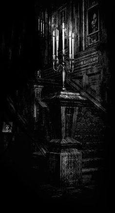 Candelabra Stairway