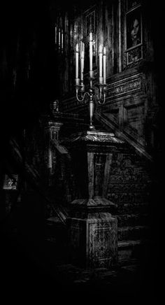 Always need a #Gothic candelabra
