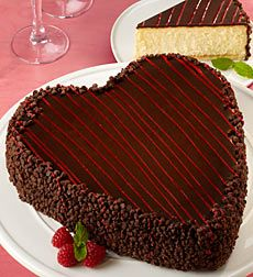 "Junior's Heart-Shaped Cheesecake   $59.99 Shipped in a Gift Box    Voted No. 1 ""The Best Cheesecake in N.Y."" by New York Magazine!Send a sweetsurprise to someone special with this truly decadent Junior's heart-shaped chocolate mousse cheesecake."