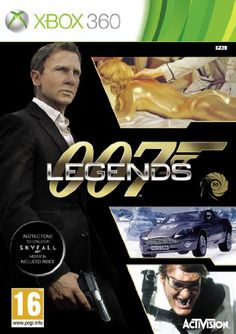 """Top 50 Xbox 360 Games 2013. James Bond: 007 Legends is an Action-Adventure First-Person Shooter set to release during the fiftieth anniversary of the James Bond film franchise. The overall storyline of the game is woven together through mission play that is based on the plots of several Bond movies, including the 2012 release, """"Skyfall.""""  Only £18.44"""