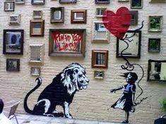 The most spectacular street-art by banksy Banksy Graffiti, Arte Banksy, Bansky, Princess Of Wales Pub, Stencilling Techniques, London Pubs, London Street, Beautiful Streets, Street Artists