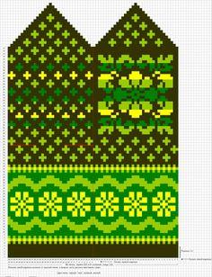 Krāsaini cimdu raksti - Rokdarbu grāmatas un dažādas shēmas - draugiem. Knitting Charts, Knitting Stitches, Hand Knitting, Knitting Patterns, Knitted Mittens Pattern, Knitted Gloves, Wrist Warmers, Hand Warmers, Bracelet Patterns
