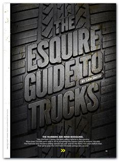 Ford Truck Advert