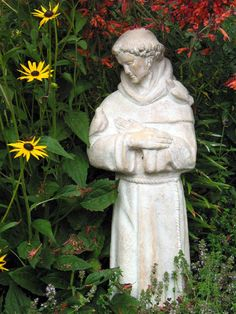 1000 Images About St Francis Garden Statue On Pinterest