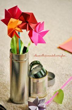 la Tana del Coniglio: DIY fiori di carta - paper flowers DIY