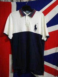 d6bb96e293c39 Vintage Polo By Ralph Lauren RL Big Pony Spellout Polo Shirt