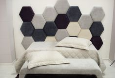 Modelo 08 - costa.andrea13@gmail.com | Cel e Whats (81) 9111 7956 Bedroom Closet Design, Modern Bedroom Design, Home Bedroom, Bedroom Decor, Bedrooms, Bed Headboard Design, Headboards For Beds, Hanging Room Divider Diy, Leather Wall Panels