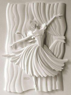 Sculpture on paper