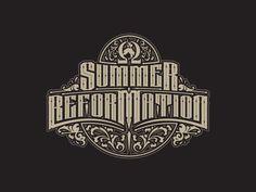 Type Design for Summer Ref.  by Nick Beaulieu