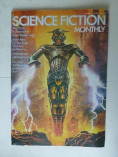 Science Fiction Monthly - 1974 - Volume 1, Number 10 - (Bruce Pennington Cover)  http://r.ebay.com/ry5rz9