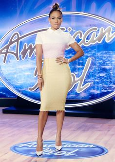 Jennifer Lopez's Head-to-Toe Looks from Seasons 14 and 15 of American Idol - August 23, 2015  - from InStyle.com