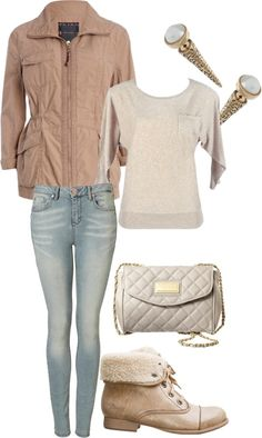 """Foggy Day Outfit"" by tckrockets on Polyvore"