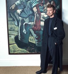 David Bowie shows his sleek, grey side in 1994. Photograph: Richard Young/Rex Features