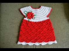Crochet Vintage Ripple Potholder Dress DIY tutorial - YouTube