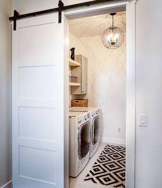 33 Best Modern Farmhouse Laundry Room Decor Ideas