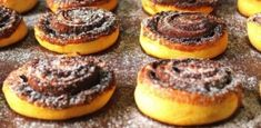 Kakaós csiga Zelleitündi módra What You Eat, Bagel, Doughnut, Cheesecake, Muffin, Goodies, Barbie, Sweets, Bread
