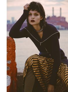 josephine skriver model5 Josephine Skriver Oozes Attitude for Harpers Bazaar Latin America by Hans Neumann