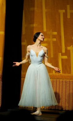 Diana Vishneva in Giselle, curtain call.
