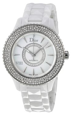 New Ladies Christian Dior VIII Huit Eight Automatic Ceramic Watch CD1245E5C001 ** Click image for more details.