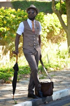 O Estilo de Loux o Guru Vintage da Namíbia | Estilo Black - Moda para Homens…