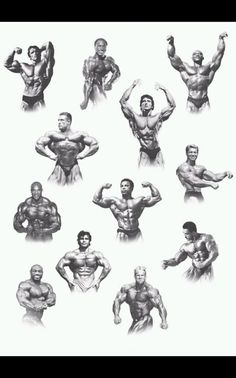 All the past Mr. Olympia winners. Except the current Mr. Olympia Phil Heath.