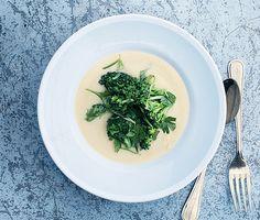 Chickpea Soup Recipe  at Epicurious.com