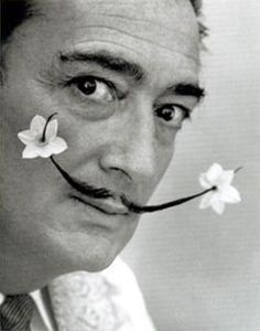 Salvador Dalí. Coolest artist ever.