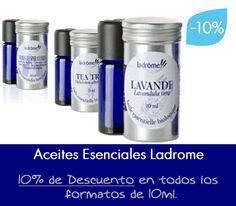 Aceites esenciales ecológicos Ladrome. 10% de descuento en todos los formatos de 10ml. en Ecologgi.com