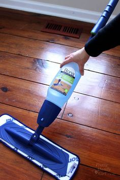 How to paint wood floors for dummies home pinterest for Painting wood floors without sanding