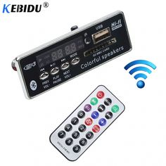 Kebidu Car Bluetooth MP3 Decoder Board Decoding Player Module Support FM Radio USB/SD LCD Screen Remote Controller Price: 9.95 & FREE Shipping #staysafe #practicesafetyguidlines #fashion #sport #tech #lifestyle Radios, Usb, Car Bluetooth, Module, Decoding, Sd Card, Consumer Electronics, Remote