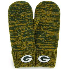 Green Bay Packers Women's Prima Knit Mittens at the Packers Pro Shop http://www.packersproshop.com/sku/4305022011/
