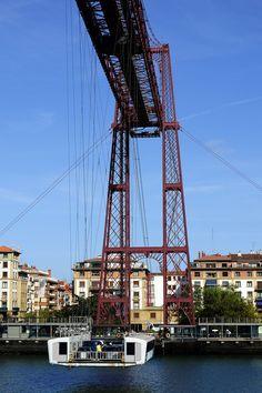 Puente transbordador más antiguo de Europa, en Portugalete.