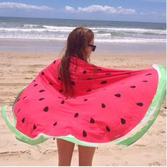 This round watermelon towelll plzz