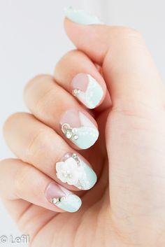ice - アイス - lefil(ルフィル)-ネイルチップ(つけ爪)専門店