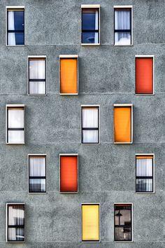 'AppCity' by Yann Fauchier architecture design facade Architecture Design, Facade Design, Amazing Architecture, Exterior Design, Interior And Exterior, Windows Architecture, Building Architecture, Contemporary Architecture, Minimalist Architecture