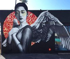 """FinDac, """"Resurrection of Angels - Part 1"""" at Love Shack in Venice, California, USA, 2016"""