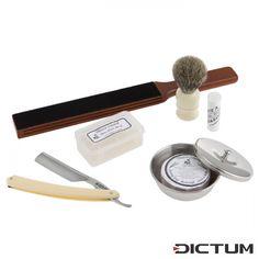 Interessanter Artikel bei Dictum: French Wet Shaving Set (709113) zu finden unter https://www.dictum.com/en/knives/razors-accessories/razors/709113/french-wet-shaving-set