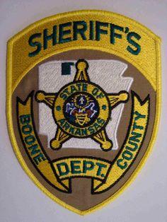 Boone county Sheriff AR