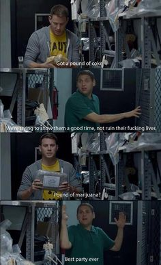 bahahaha I love this movie. Channing's niche is self-deprecating comedy... oh and taking off his clothes. Can't forget that.
