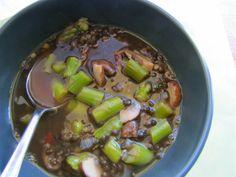 Albion Cooks: Asparagus, Lentil & Mushroom Soup