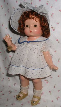 1930s Effanbee RED Head PATSY -- All Original w/Hang Tag & Pin