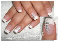 photo decoration ongles mariage